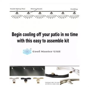 Low Pressure Misting System Kit