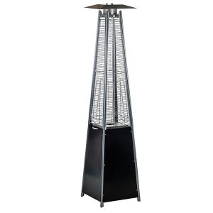 Pyramid Gas Heater-Black